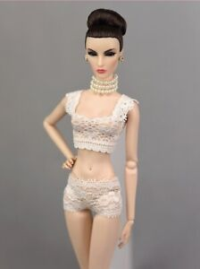 1//6 Female Light Green Tube Top Underwear Bra Clothes Costume For Action Figure