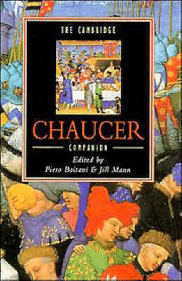 The Cambridge Chaucer Companion (Cambridge Companions to Literature)-ExLibrary