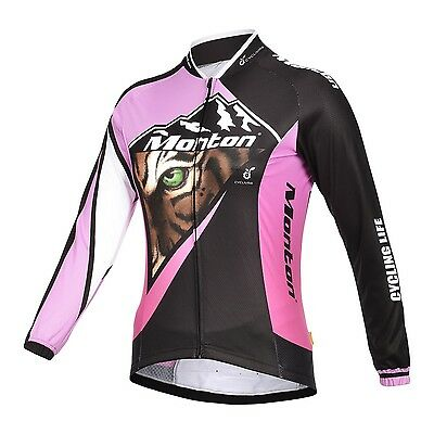 HOT!! Monton Outdoor Sports Road Tiger Women's Cycling Jersey Bike Bicycle Top