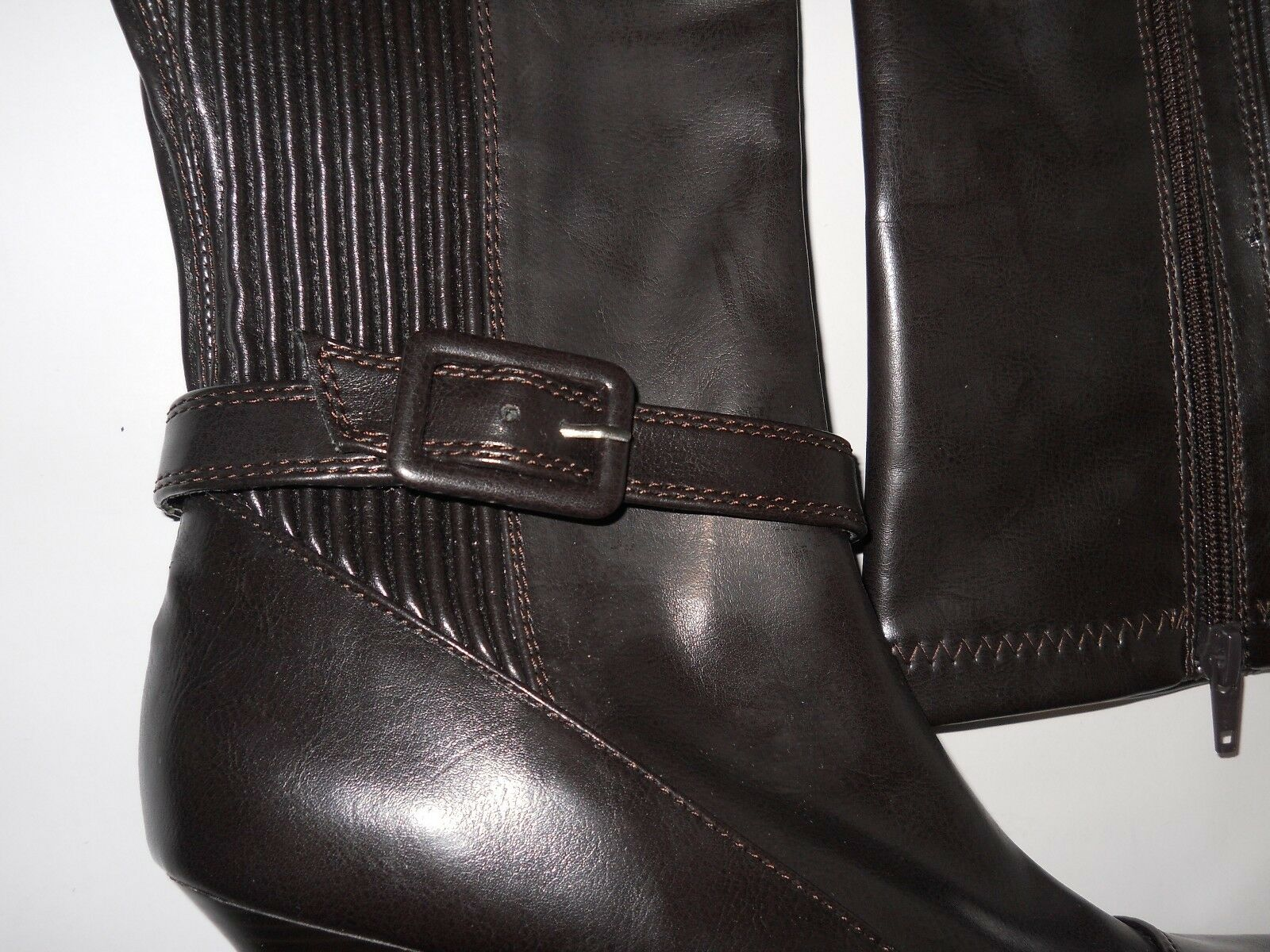 style & co - nouveau  s attachés attachés attachés nwob bottes 8,5 m chaussures marron foncé bbcb2c