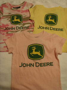 RABBIT SKINS Licensed John Deere Product Blue Shirt Baby 6 12 or 18 Month NWT