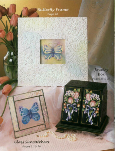 FANTASY GARDEN Vol 2 Juanita Denton Decorative Painting Pattern BOOK