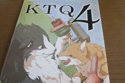 Doujinshi KTQ #4 KEMONO anthology B5 100pages KTQ48 Shisokuinuka senmon furry