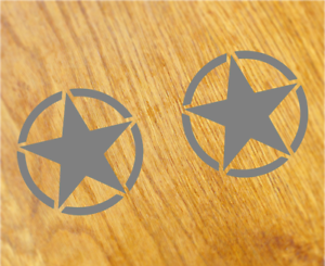 US-ARMY-STAR-Aufkleber-Sticker-USA-Decal-STERNE-Zeichen-Oldschool-Tuning-Hotrod
