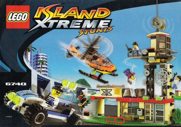 Lego 6740-Island Xtreme Stunts  Xtreme Torre - 2002-Sin Caja