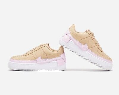 New Nike Air Force 1 Jester XX Multi Sizes Bio BeigePink Force White AO1220 202 | eBay