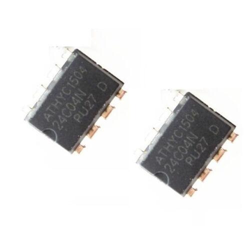 100PCS IC AT24C04 AT24C04N AT24C04NDIP-8 EEPROM 4KBIT 400KHZ NEW