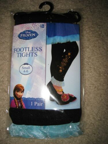 NIP DISNEY FROZEN ANNA FOOTLESS TIGHTS SIZE SMALL 4-6 I SHIP EVERYDAY