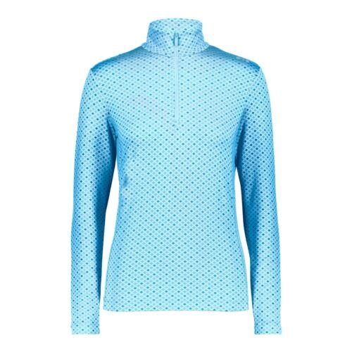 CMP Mädchen Skirolli Funktionsshirt SWEAT 38L1075 Skishirt blau türkis 140-176