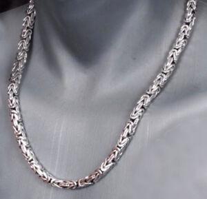 NEU-6-mm-Koenigskette-Halskette-echt-Silber-925er-Sterling-80-cm-Herren-134-g