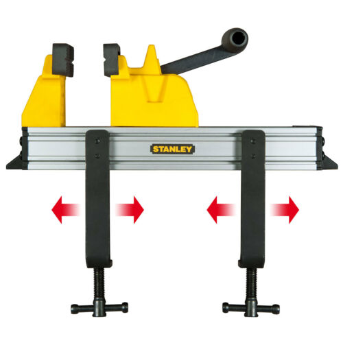 083179 Stanley Quick Lever Close Mobile Bench Table Hobby//Craft Wood Vice//Clamp