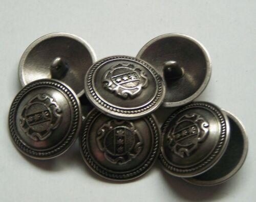 8pc 23mm American inspirado Estaño metal de color militares botón 2251