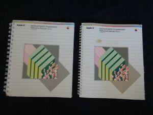 Lot-2-Vintage-1982-Apple-Computer-Applesoft-BASIC-Programmer-039-s-Reference-Manuals