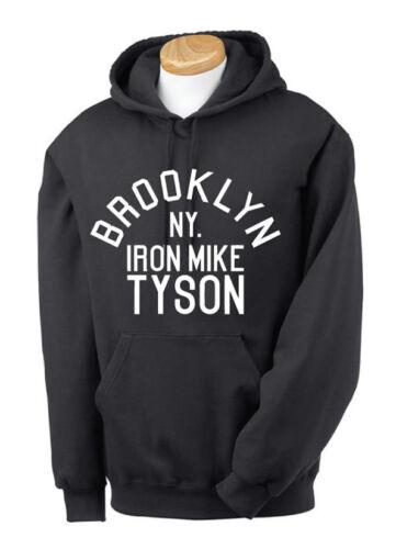 Mike Tyson Brooklyn NY Mens Hoodie Jumper Sweatshirt Boxing Rocky Balboa S-XXL