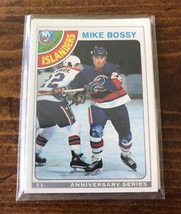 1992-93-O-Pee-Chee-Anniversary-Series-11-Mike-Bossy-New-York-Islanders