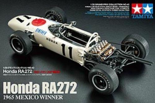 TAMIYA 20043 Honda F1 RA272 1 20 F1 Car Model Kit