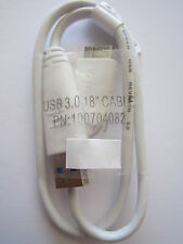 0.5M WHITE Very Short USB 3.0 Super Speed/Fast Cable Lead USB3 PN: 100704082