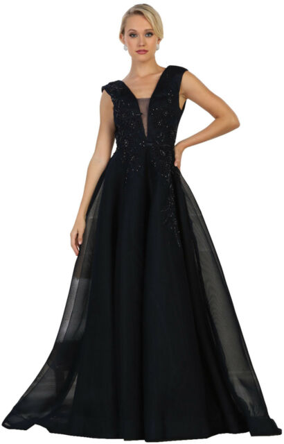 Simple Evening Gown Long Red Carpet Party DESIGNER Formal Prom Dress ...