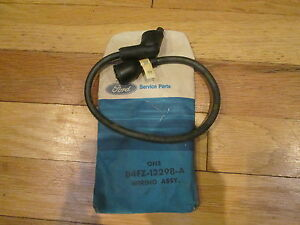 nos 1973 74 ford pinto ignition coil to distributor wire ebay. Black Bedroom Furniture Sets. Home Design Ideas