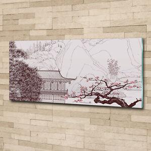 Wandbild-aus-Plexiglas-Druck-auf-Acryl-125x50-Kunst-Landschaft