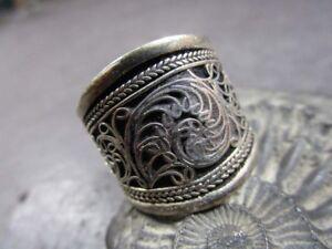 Adjustable Lapis Ring Boho ring Nepal ring Tibetan ring Tibet Ring RB79