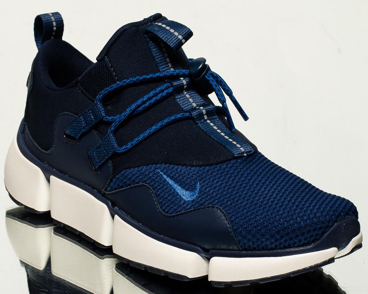 Nike Pocketknife DM men lifestyle sneakers NEW obsidian gym blueee navy 898033-401