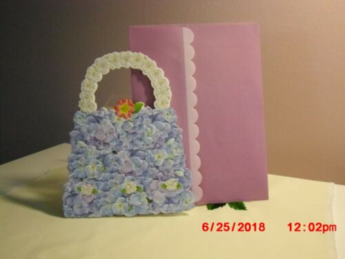 Blank Carol/'s Rose Garden Lilac Purse on cover