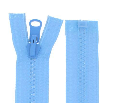 Wende Reißverschluss Reißverschlüsse WPZ Plastik Zähne Wendereißverschlüsse 5mm