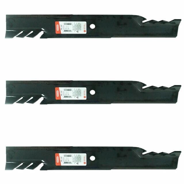6PK Oregon 596-347 G5 Gator Mulching Blades for Scag 481708 481712 482879 48111
