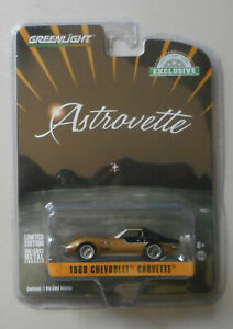 NASA-Apollo-XII-Astrovette-1969-Chevy-Corvette-HOBBY-GREENLIGHT-DIECAST-1-64
