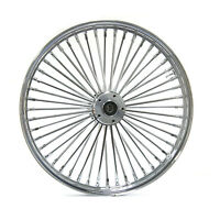 Fat Spoke Front Wheel Chrome 21 X 3.5 Harley Softail Flstn Flstc Heritage Slim