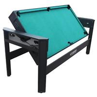 Poker Dining Table Combo ... Hockey Ping Pong Archery Pool Table Archery Billiards Swivel Game New