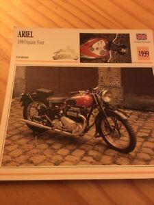 Ariel-1000-cm3-square-forno-1939-Porta-Carte-motorrad-Collezione-Atlas