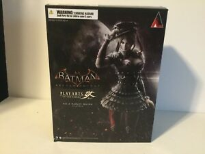 Variante Play Arts Kai Square Enix Batman Arkham Chevalier Harley Quinn Authentique