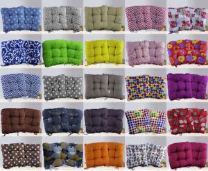 Rond Violet siège pad pour Cuisine Chaise Chaise De Jardin Patio avec Tie-sur-Pack de 8