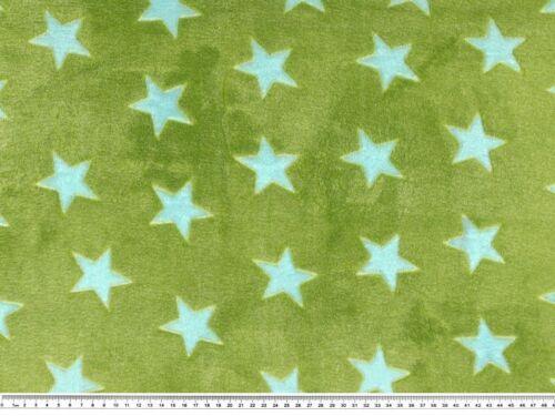 stelle 14 colori Morbidissimo pile ciniglato