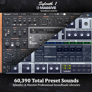 Details about NI Massive AND Sylenth - Studio Producer Soundbank Archives   HUGE Library Bundle