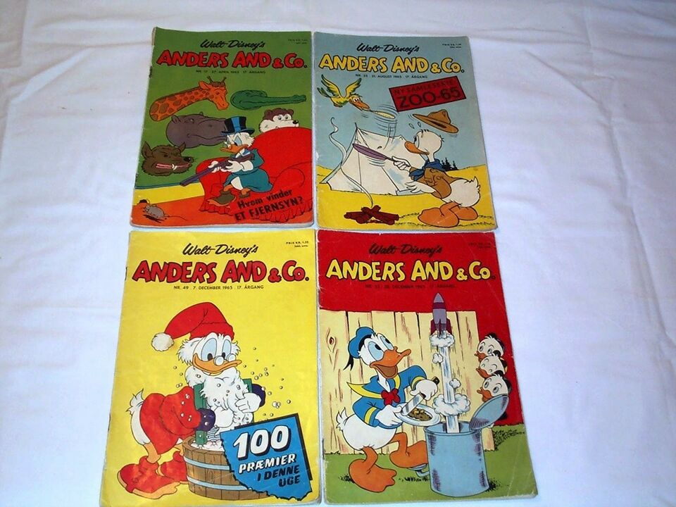 Anders And og Co.1964-65, Blad