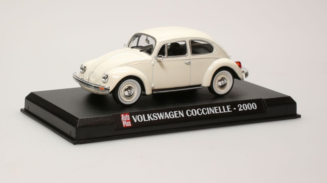 VW COCCINELLE 2000 WHITE WHITE WHITE AUTOPLUS IXO 1 43 COX WEISS BEETLE VOLKSWAGEN BLISTER 4a9f75
