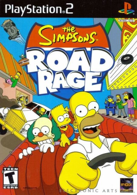 Simpsons Road Rage - Playstation 2 Game Complete