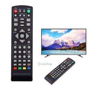 Replacement Universal Remote Control for TV DVB-T2 Remote Control Battery Power