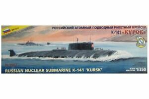 """ZVEZDA 9007 1//350 Russian Nuclear Submarine K-141 /""""Kursk/"""""""