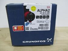 Pumpe Grundfos Alpha2 25-40 A 180 Energiesparpumpe 1 x 230 V Pumpenkost P15/443