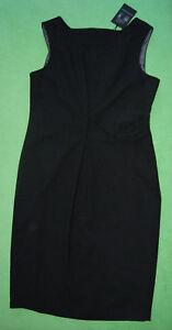 grigio carbone Reed abito Austin elegante lavoro Pinafor le 16 carbone Uk nero donne taglia per IqAISw1