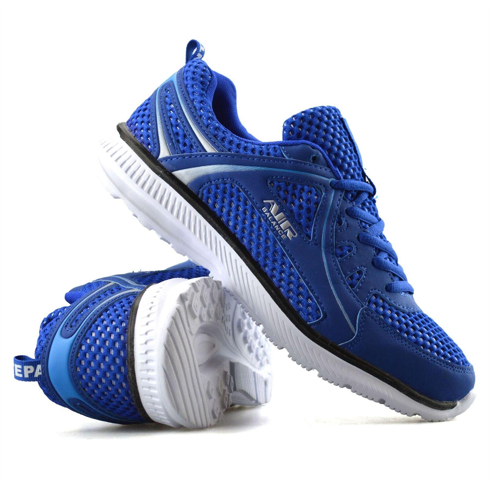 Hommes Casual Running Marche Gym Sport Antichoc Dentelle Baskets Chaussures Taille