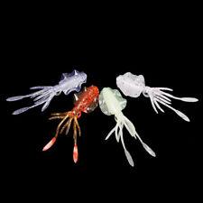 Portable Swim Fishing Tackle long tail Squid Skirt Lure Saltwater Octopus Bait