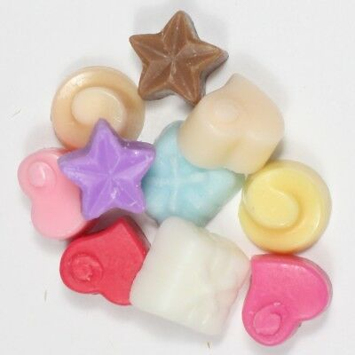 Woody Scents 10 x 5g Handpoured Highly Scented Wax Melts Tarts