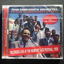 Rare Harkit Dankworth CONCRETE JUNGLE Film Score OST CD 59 Newport Jazz Festival