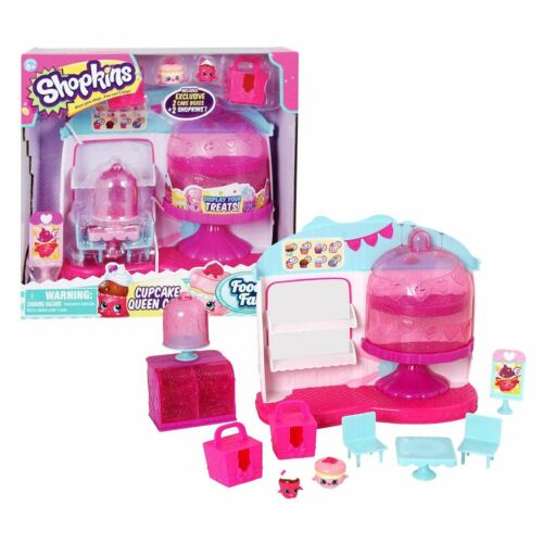 Shopkins style me garde-robe ou CUPCAKE QUEEN CAFE Playset /& chiffres officiels