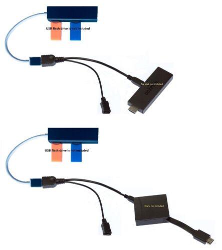 3 PORT USB HUB LAN Ethernet connector /& OTG adapter for Amazon Fire Gen 2 3 /&4